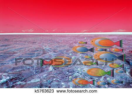 Kresba Morske Dno K5763623 Hledat Klipart Ilustrace Umelecke