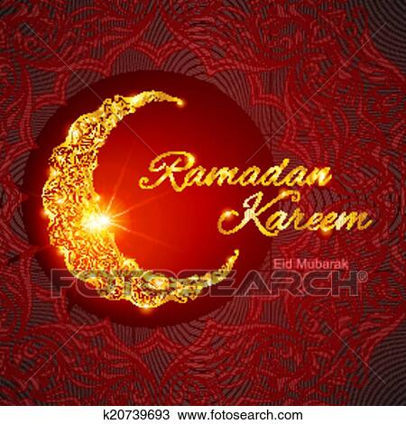 Clipart of ramadan kareem greeting card k20739693 search clip art clipart ramadan kareem greeting card fotosearch search clip art illustration murals m4hsunfo