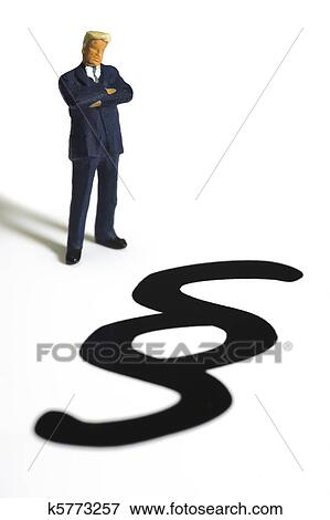 Stock Illustration Of Advocate And Paragraph Sign Of Law K5773257