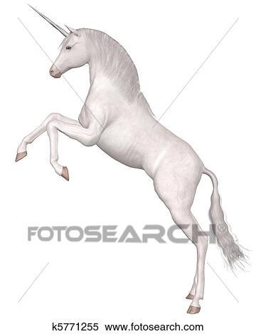 Magico Unicorno Allevamento Archivio Illustrazioni K5771255