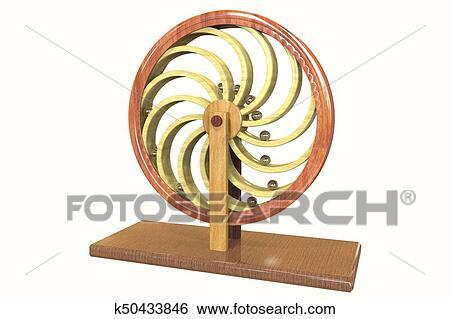 banque d 39 images mouvement perp tuel machine perpetuum mobile k50433846 recherchez des. Black Bedroom Furniture Sets. Home Design Ideas