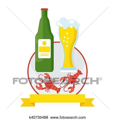 clip art of vector beer party k40735488 search clipart rh fotosearch com oktoberfest clip art free downloads oktoberfest clip art free downloads