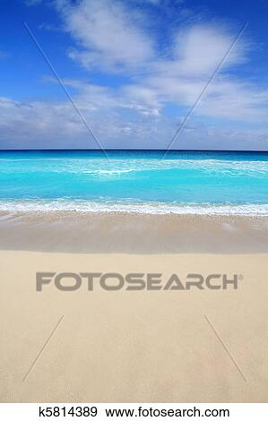 Beach Tropical Vertical Caribbean Turquoise Perfect Sea Vacations