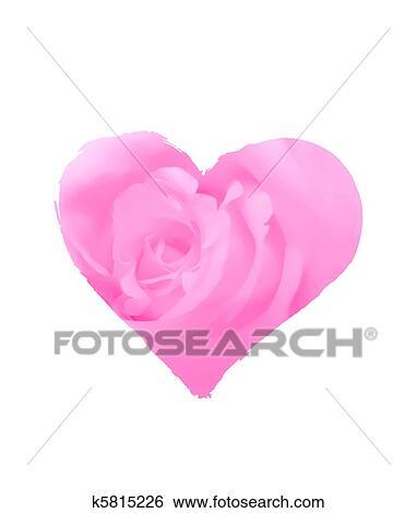 Archivio Illustrazioni Stilizzato Amore Simbolo K5815226 Cerca