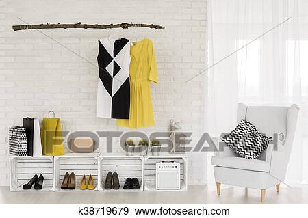 Practical And Eco Friendly Hall Furniture Ideas Stock Photo K38719679 Fotosearch