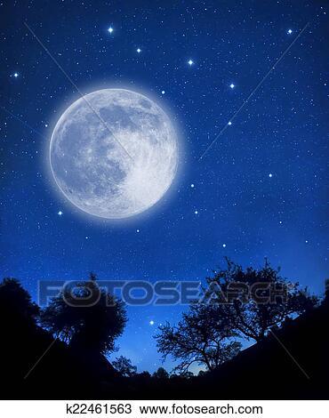 Disegno Cielo Stellato K22461563 Cerca Clipart Illustrazioni