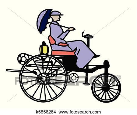 ベクトル 昔 自転車 白 背景 クリップアート切り張りイラスト
