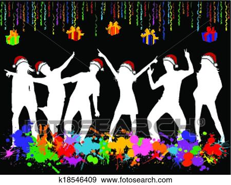 Christmas Party Images Clip Art.Christmas Party Clip Art