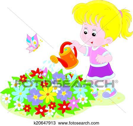 Water Flowers Clip Art