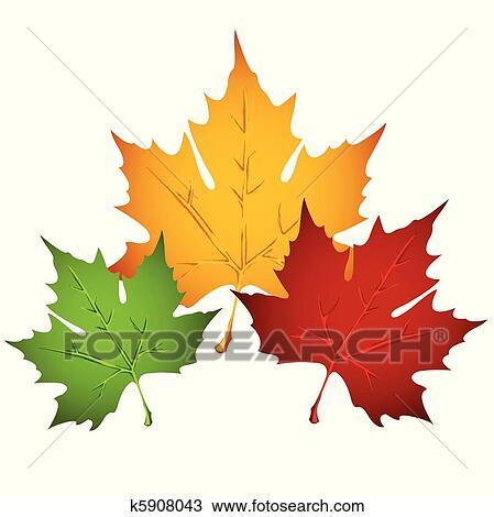 Autumn Leaf Clipart K5908043 Fotosearch