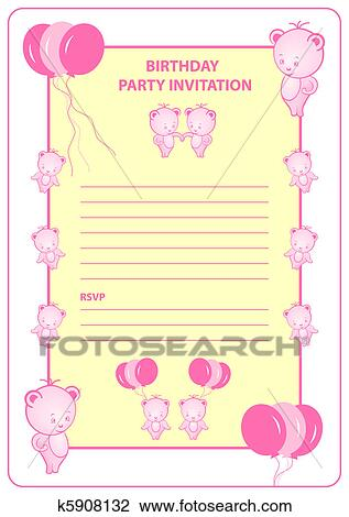 Amazon.com: Ninja Girl Style 1 Happy Birthday Invitations Invite Cards (10  Count) With Envelopes Boys Girls Kids Party (10ct): Kitchen & Dining