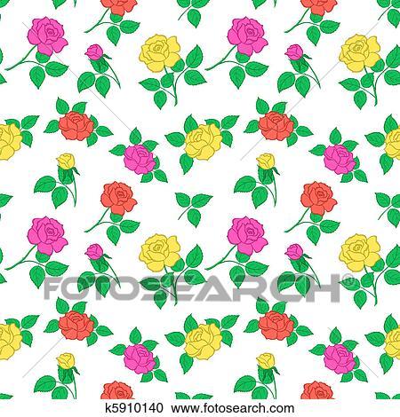 clipart fundo flores rosa fotosearch busca de ilustraes clip art
