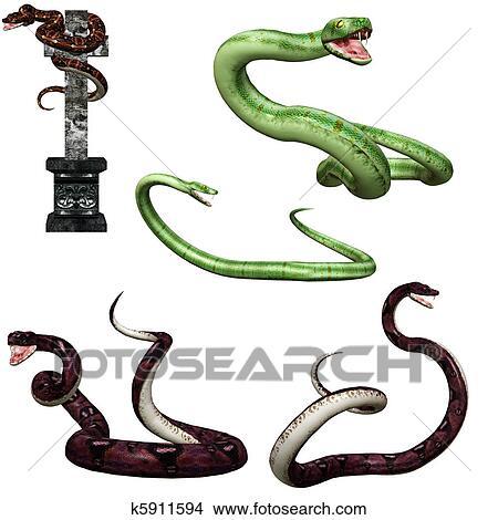 dibujos serpiente k5911594 buscar clip art ilustraciones de