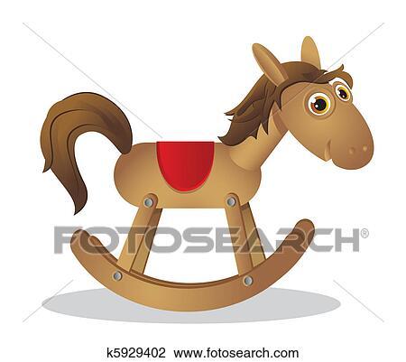 Clipart cheval bascule k5929402 recherchez des clip arts des illustrations des dessins et - Clipart cheval ...