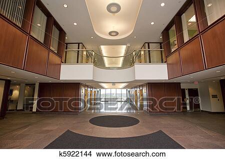Stock foto hal in kantoorpand k5922144 zoek fotos fresco