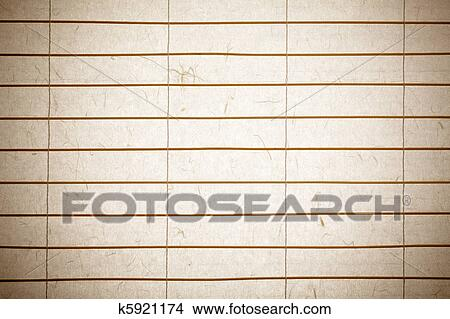 Rice Paper Background Picture K5921174 Fotosearch
