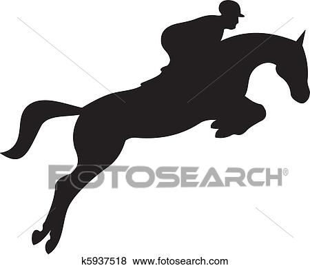 clip art of horse silhouette vector k5937518 search running horses clip art colors running horse clipart black and white