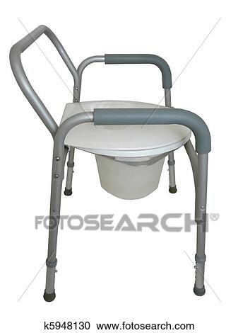 Stock Fotografie - bed, commode, of, douche, stoel k5948130 - Zoek ...
