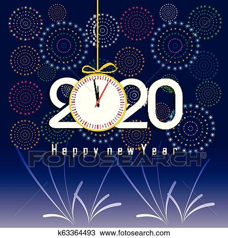 Happy New Year Clipart 2020 83