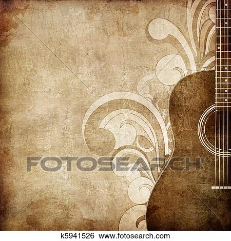 Old Paper Texture Stock Illustration