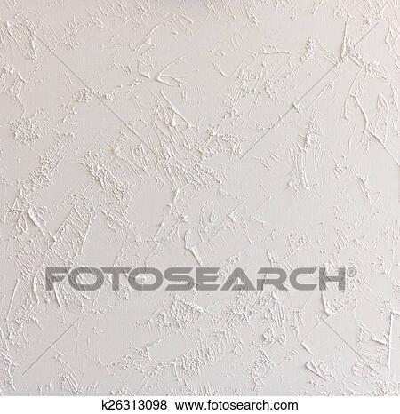 Carta Da Parati Su Muro Ruvido.Bianco Estratto Strutturato Fondo Parete Con Ruvido Stucco Archivio Illustrazioni