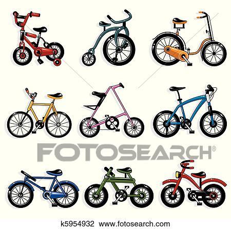 Cartone Animato Bicicletta Clipart