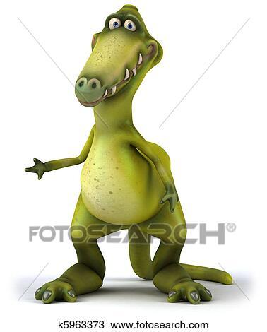 Dinossauro Desenho K5963373 Fotosearch