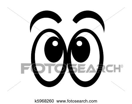 Yeux 2 Clipart K5968260 Fotosearch