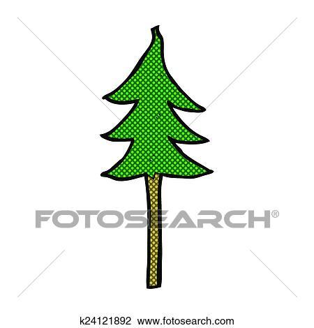 clipart of comic cartoon tree symbol k24121892 search clip art rh fotosearch com Cartoon Clip Art Animal Clip Art