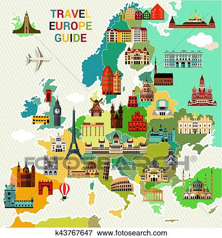 Travel Guide Clipart