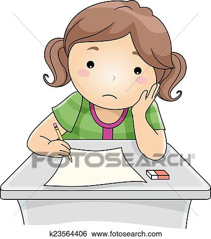 clip art of examination blues k23564406 search clipart