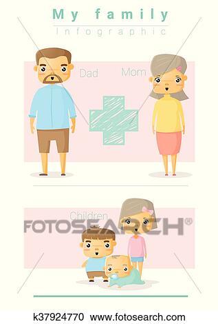 Clip art of family 4 - Clipartix
