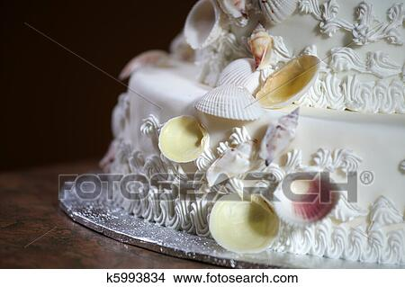 Luxe Gâteau Mariage Image