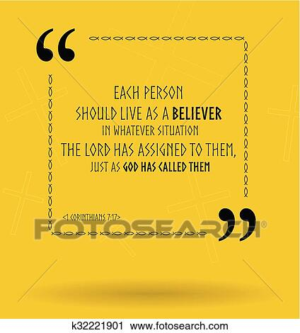 Clipart Of Vector Bible Quotes About Life Aim K32221901 Search