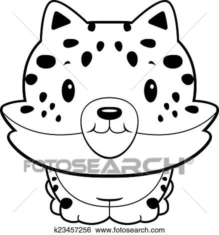 Clip Art Of Baby Jaguar K23457256