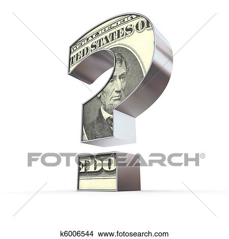 Drawings Of Dollar Question Mark K6006544 Search Clip Art