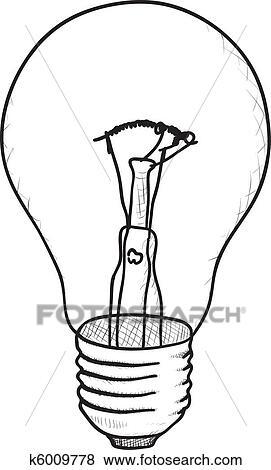 Clip Art Of Simple Vector Sketch