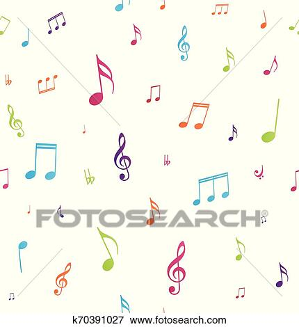 Drawing Headphones Music Note Clipart - Transparent Background Colorful  Music Notes Clipart, HD Png Download , Transparent Png Image - PNGitem