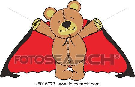 Carino cartone animato orso teddy cane felice carino