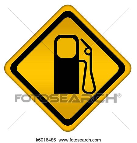 stock illustration of gas station k6016486 search clip art rh fotosearch com natural gas energy clipart natural gas clipart black and white