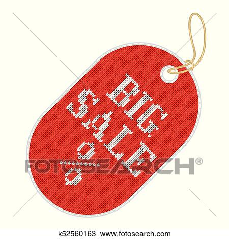 7cae0a8167e5 Tag for a full sale, seasonal discounts, black Friday. Promotion of goods,  marketing and advertising, merchandising. Flat vector cartoon illustration.