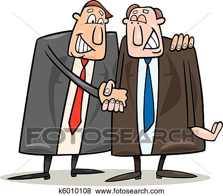 Clip Art Of Politics Agreement K6010108 Search Clipart