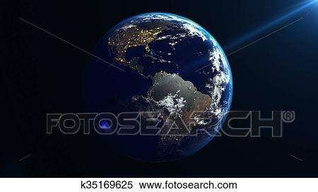 Rotation Erde