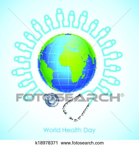 Clipart Of World Health Day K18978371
