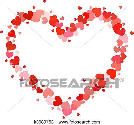 Clipart cuore contorno ha recuperato di poco rosa for Clipart cuore