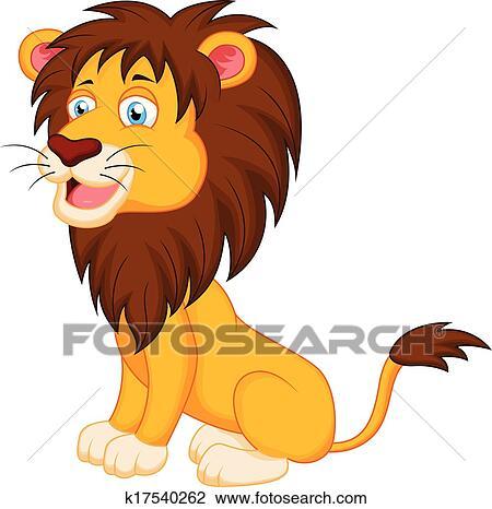 Clipart leone cartone animato k17540262 cerca clipart - Cartone animato immagini immagini fantasma immagini ...