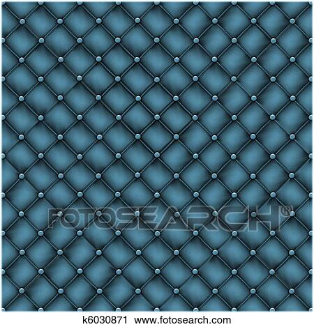 Seamless Texture Leather Quilted A Sofa Stock Image