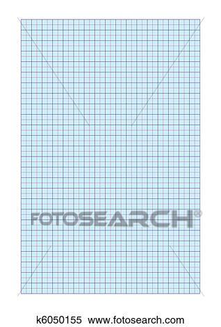 A4 ورقة الرسم للبيان Clipart K6050155 Fotosearch