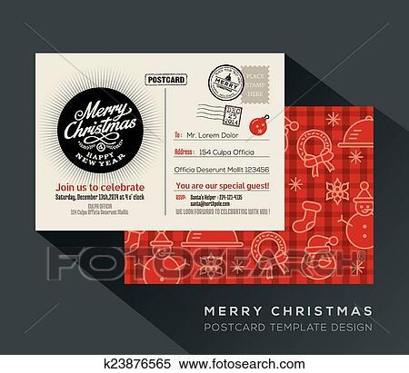 Happy New Year Invitation Card 48