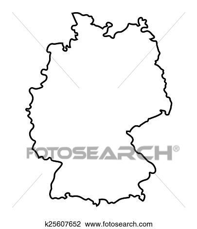 clipart schwarz abstrakt deutschlandkarte k25607652 suche clip art illustration. Black Bedroom Furniture Sets. Home Design Ideas